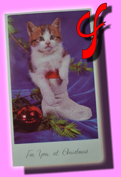 "ÍTEM #060 Christmas Gatito ""For you at Christmas"""